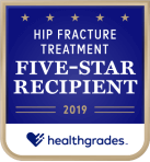 Hip Fracture Treatment Healthgrades Award